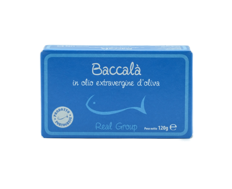 BACCALA' PORTOGHESE IN OLIO REAL GROUP