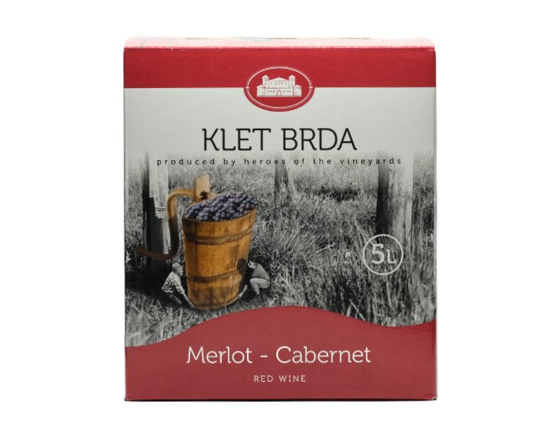 MERLOT CABERNET KLET BOX LT.5