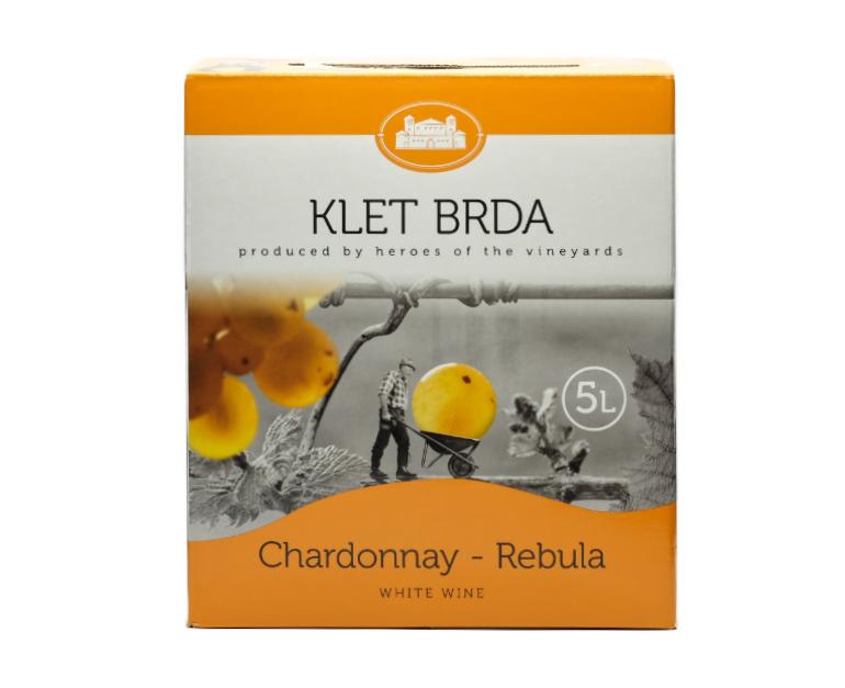CHARDONNAY REBULA KLET BOX LT.5