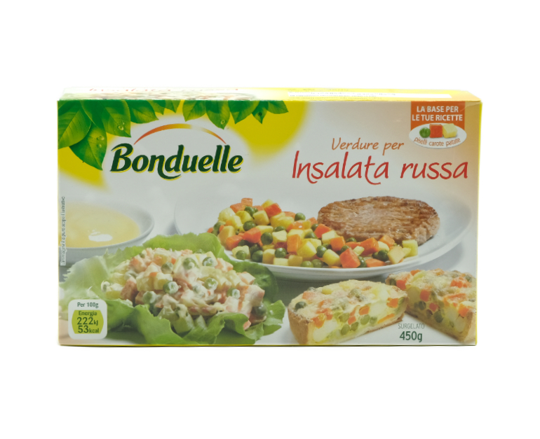 VERDURE X INSALATA RUSSA BONDUELLE