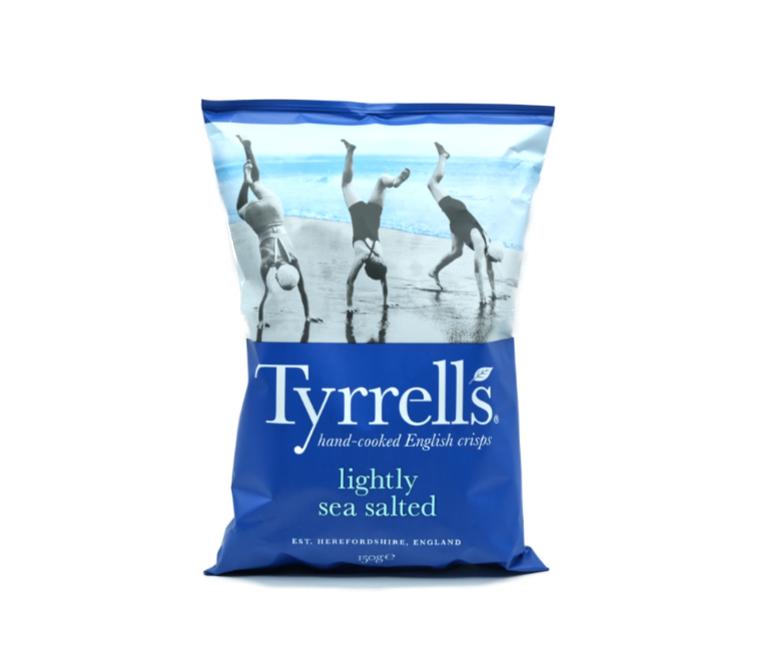 PATATINE TYRRELLS LIGHT SALTED