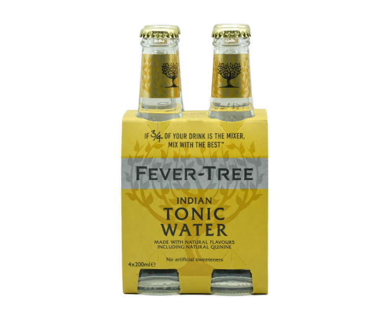 FEVER TREE INDIAN TONIC WATER X4