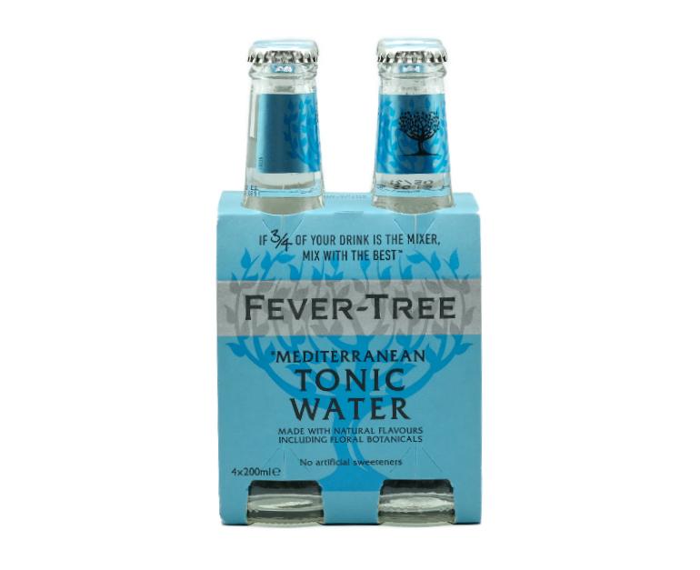 FEVER TREE MEDITERREAN TONIC WATER X4