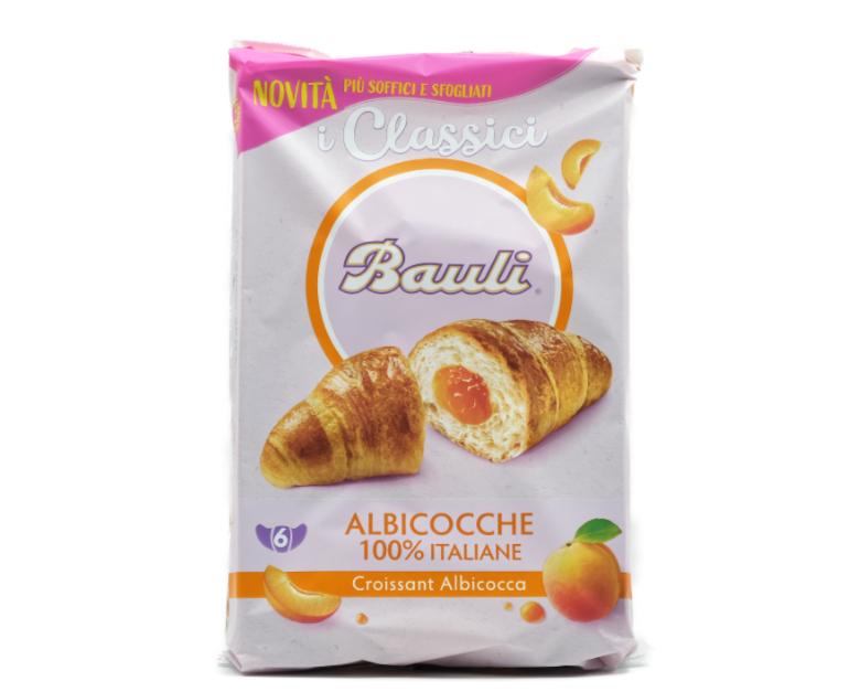 6 CROISSANT BAULI ALBICOCCA