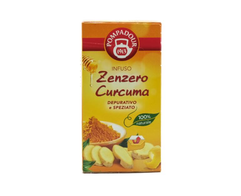 INFUSO POMPADOUR ZENZERO E CURCUMA