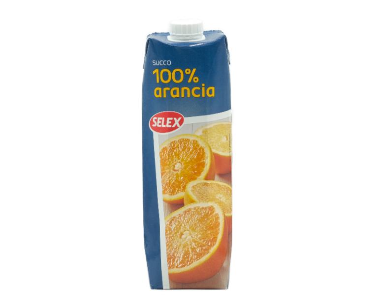 SUCCO SELEX 100% ARANCIA