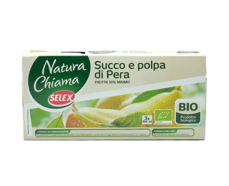 3 NETTARE SELEX BIO PERA