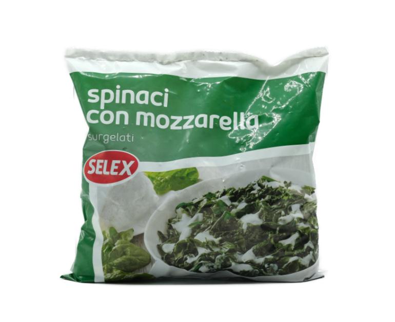 SPINACI MOZZ/FORMAGGIO SELEX