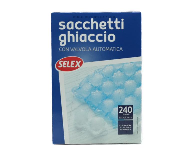 10 SACCHETTI GHIACCIO SELEX