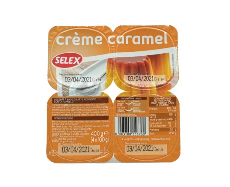 CREME CARAMEL SELEX X4 PZ.