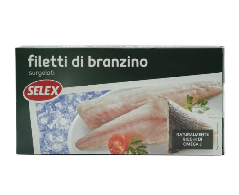 FILETTI DI  BRANZINO SELEX