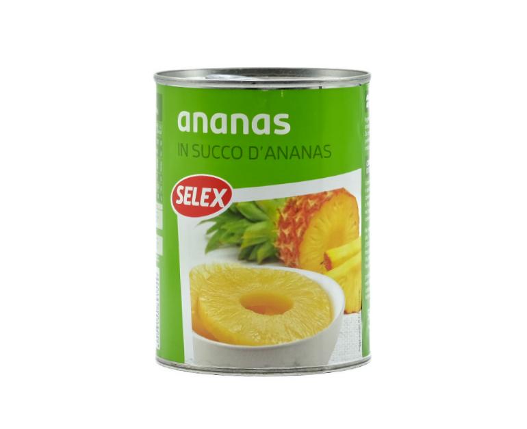 ANANAS AL NATURALE SELEX