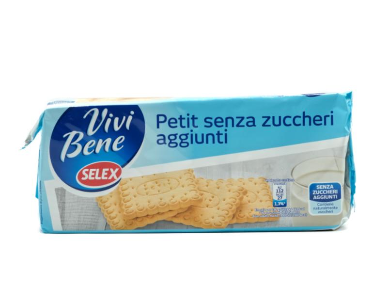 BISCOTTI PETIT SENZA ZUCCHERO SELEX