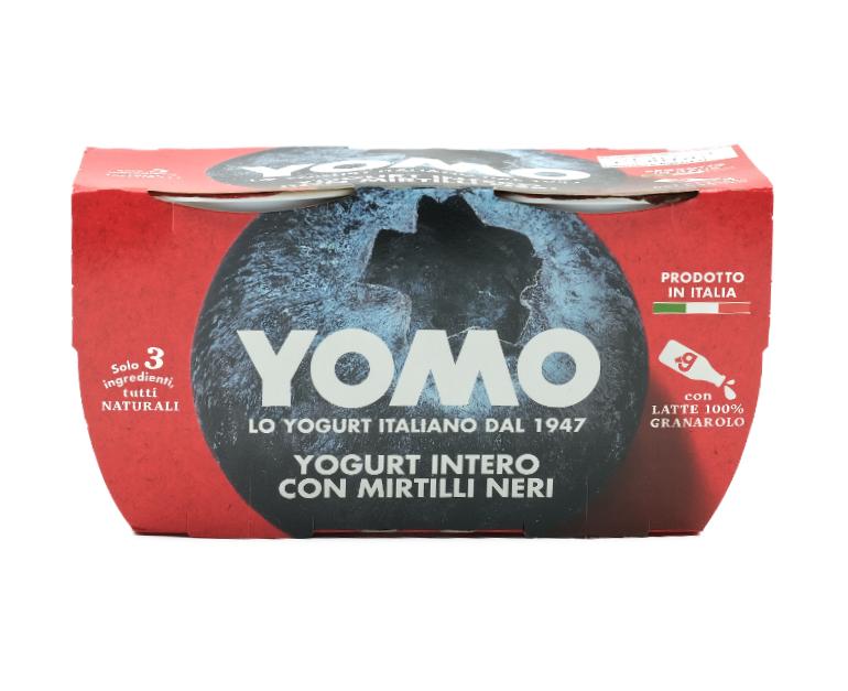 2 YOGURT YOMO         MIRTILLI