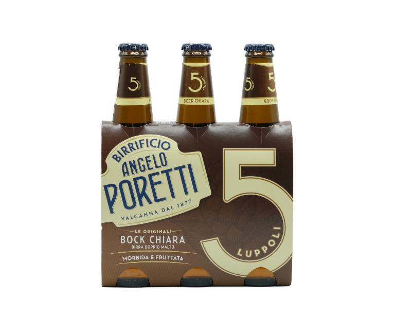 3 BIRRE PORETTI CH.  BOCK 5 L.