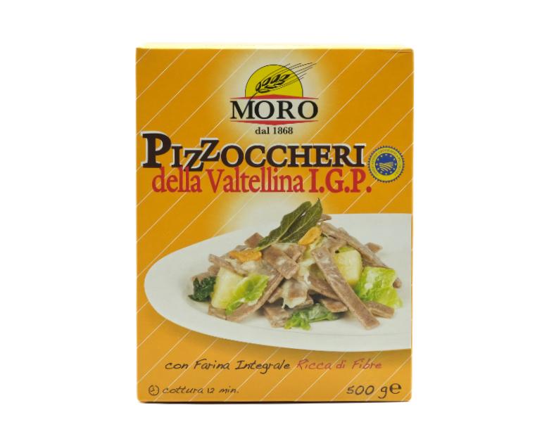 PIZZOCCHERI VALTELLINA GR.500 MORO