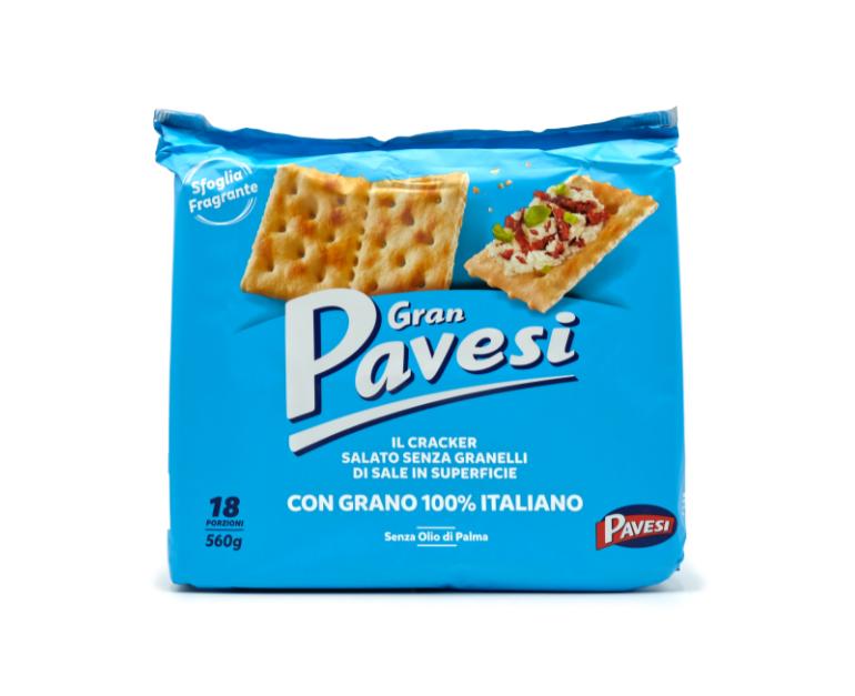 CRACKERS PAVESI N/SALATI