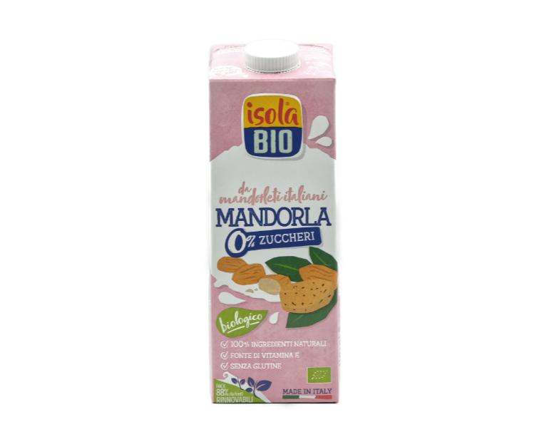 LATTE MANDORLA S/ZUCCH ISOLA BIO