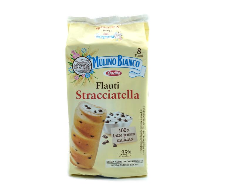 8 MER. FLAUTI STRACCIATELLA M.BIANCO
