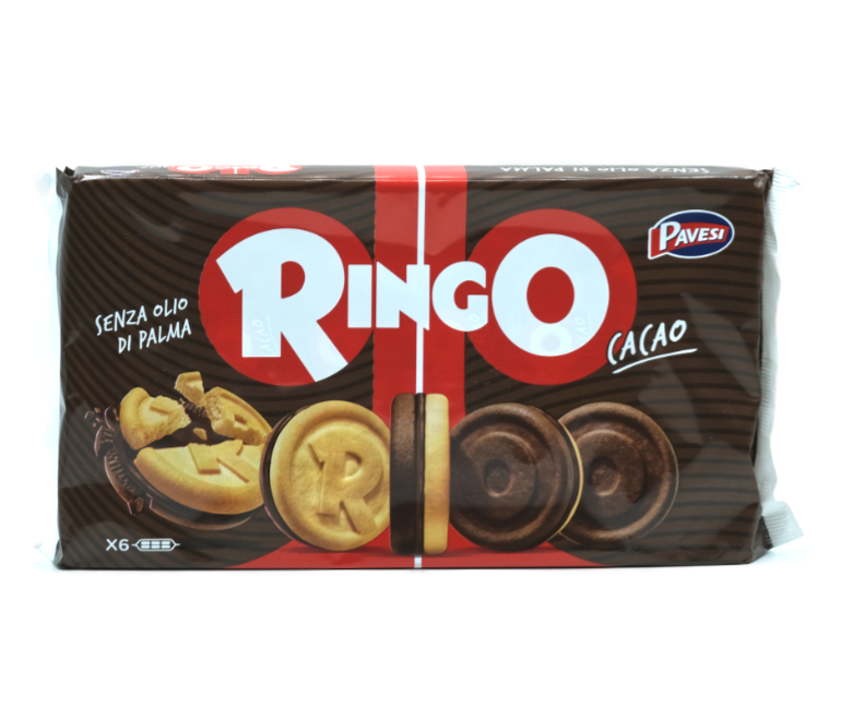 6 BISC.RINGO CACAO FAM.