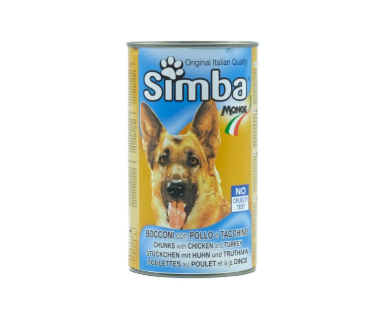 SIMBA CANE POLLO/TACCHINO LATT.