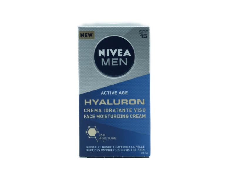 CREMA HYLURON NIVEA F/MEN ANTIRUG
