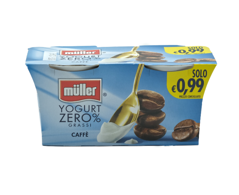 2 YOG. MULLER 0.1%  CAFFE'